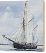 Ketch Rig Solvig Wood Print