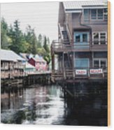 Ketchikan Alaska Wood Print