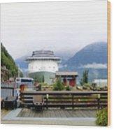 Ketchikan Alaska  Wood Print by Mindy Newman