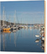 Kettering Harbour Wood Print