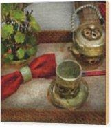 Kettle - Formal Tea Ceremony Wood Print