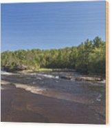 Kettle River Big Spring Falls 1 Wood Print