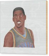 Kevin Durant Wood Print by Toni Jaso