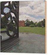 Kew Sundial Wood Print