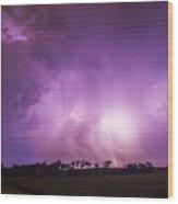 Kewl Nebraska Cg Lightning And Krawlers 018 Wood Print