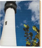 Key Biscayne Lighthouse, Florida Wood Print