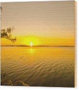 Key Largo Sunrise 2 Wood Print