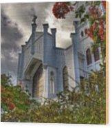Key West Church Wood Print
