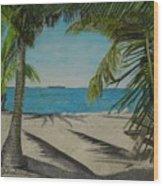 Key West Clearing Wood Print