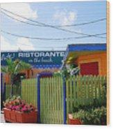 Key West Colors Wood Print