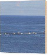 Key West Fishing Wood Print