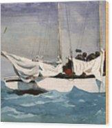 Key West Hauling Wood Print