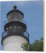 Key West Light Wood Print