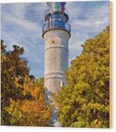 Key West Lighthouse - 1848 Wood Print