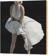 Key West Marilyn - Special Edition Wood Print