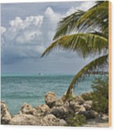 Key West Paradise 4 Wood Print