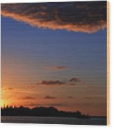 Key West Sunrise 14 Wood Print
