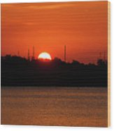 Key West Sunrise 34 Wood Print