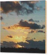 Key West Sunrise 44 Wood Print