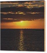 Key West Sunset 29 Wood Print