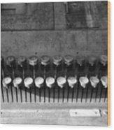 Keys To Commerce Wood Print