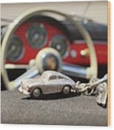 Keys To The Porsche Wood Print
