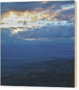Keys View Sunset Landscape Wood Print