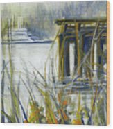 Keystone Port Townsend Ferry Wood Print