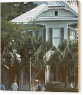 Keywest Wood Print