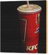 Kfc Cup Wood Print