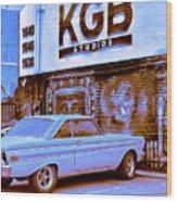 K G B Studios Los Angeles Wood Print
