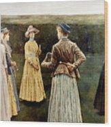 Khnopff: Memoires, 1889 Wood Print