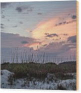 Kiawah Island Sunset Wood Print