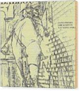Kid Shelleen, Cat Ballou, Academy Award Winner  Lee Marvin Wood Print