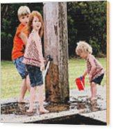 Kids Fresco Wood Print