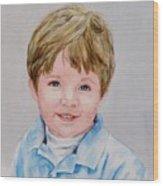 Kieran - Commissioned Portrait Wood Print