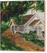 Kihei Chapel Wood Print