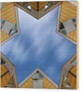 Kijk Kubus Wood Print