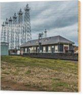 Kilgore  Depot Wood Print