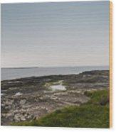 Kilkee Coastline Wood Print