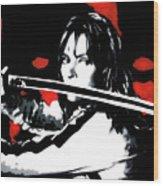 Kill Bill Wood Print