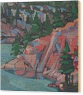 Killarney George Lake Sentinel Wood Print