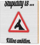 Killing Bigstock Donkey 171252860 Wood Print