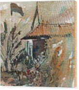 Killing Fields Museum Cambodia  Wood Print
