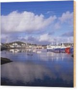 Killybegs, Co Donegal, Ireland Wood Print