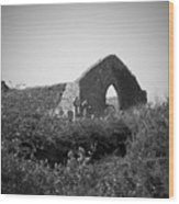 Kilmanaheen Church Ruins Ennistymon Ireland Wood Print