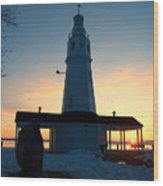 Kimberly Pointe Lighthouse Wood Print