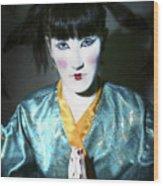 Kimono  Wood Print