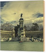 King Alfonso Monument  Wood Print