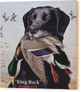 King Buck    1959 Federal Duck Stamp Artwork Wood Print
